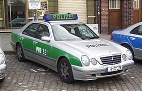 Polizei Hamburg Streifenwagen